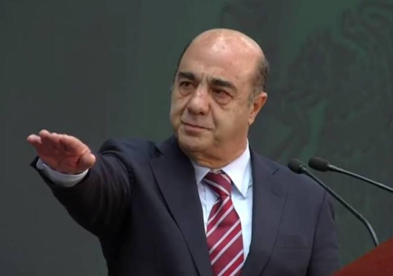 Jesús Murillo Karam protesta como titular de la Sedatu
