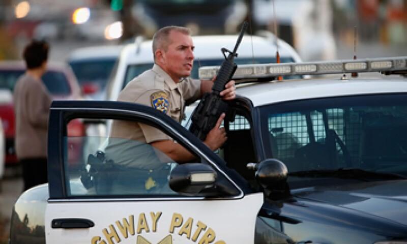 Este miércoles se registró un tiroteo en San Bernardino, California, que dejó 14 muertos. (Foto: AFP)