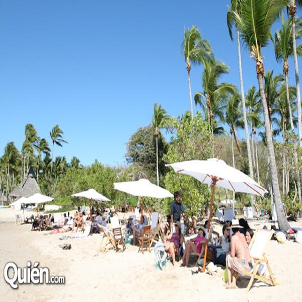 Fiesta en playa