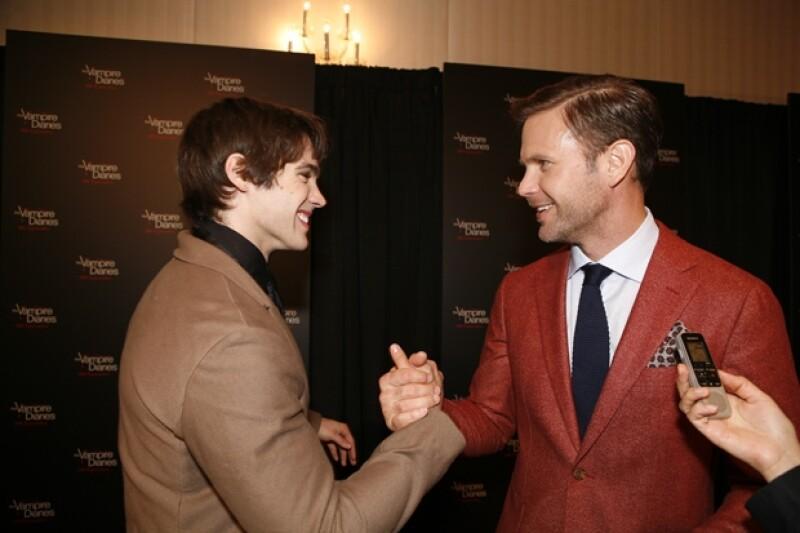 Steven McQueen y Matt Davis demostraron el gran cariño que se tiene todo el elenco.