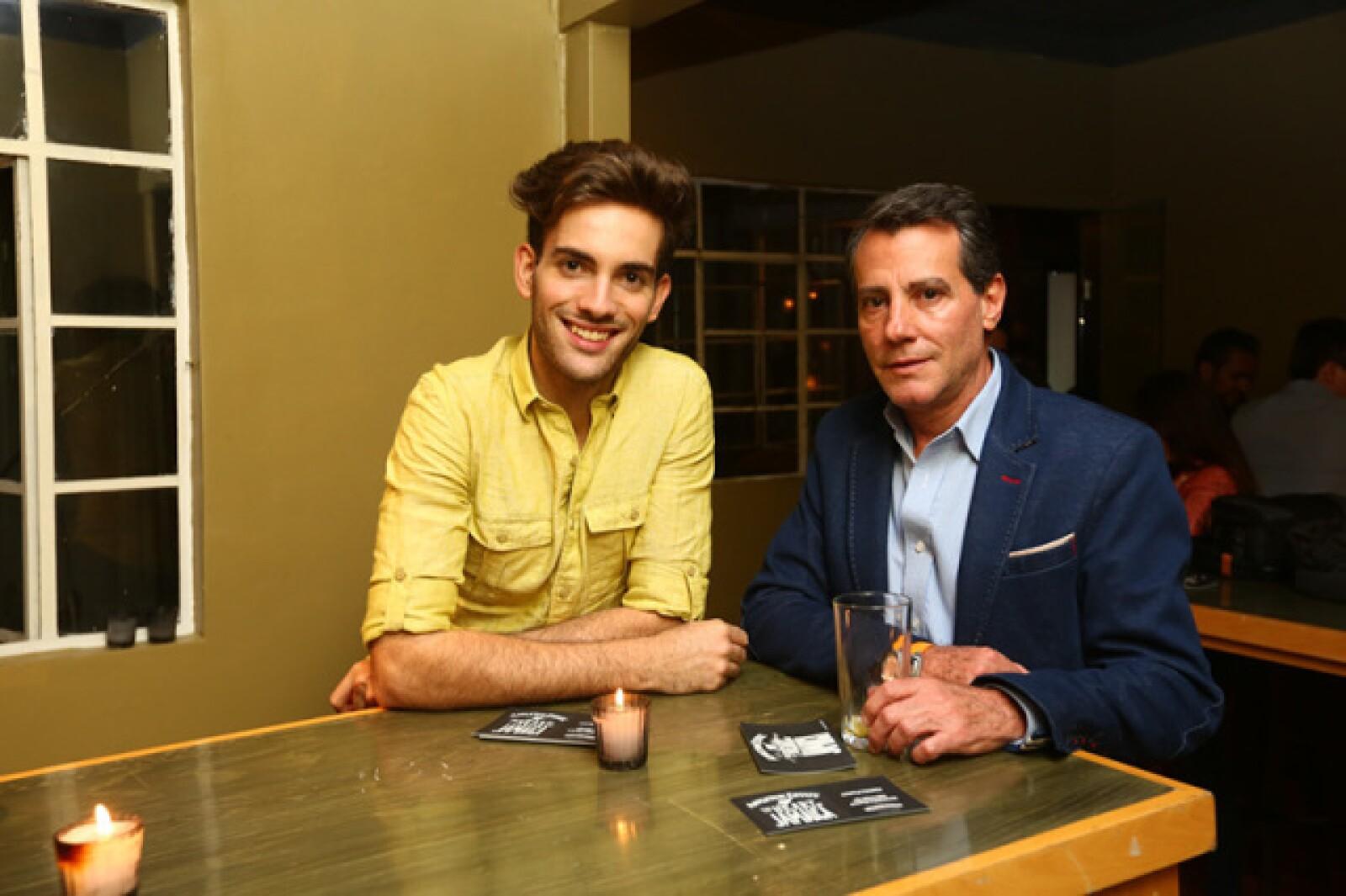 Christian Landon y Luis García