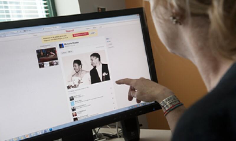 Pinterest mejoró la búsqueda de imágenes en su sitio en abril. (Foto: AFP)