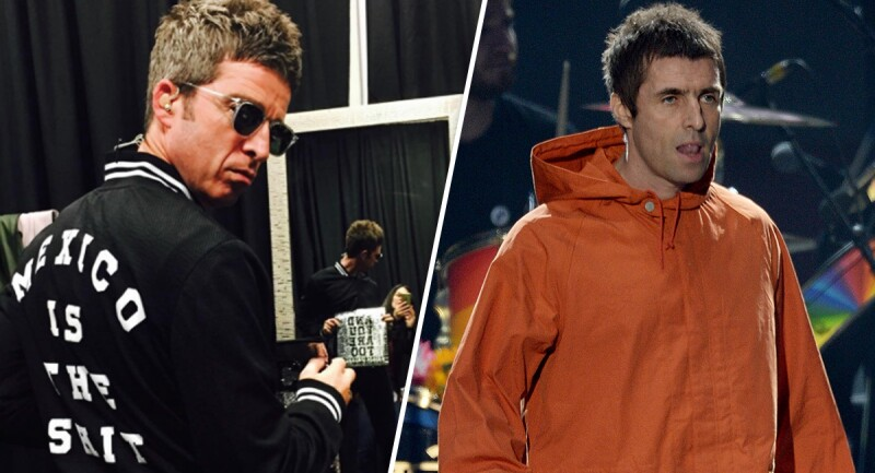 Noel y Liam Gallagher