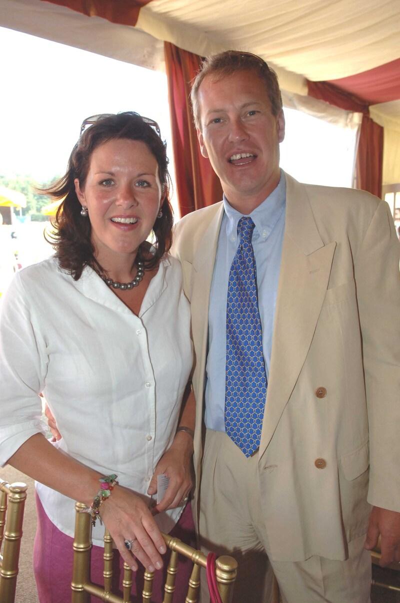 Lord Ivar y su esposa Penelope en 2005
