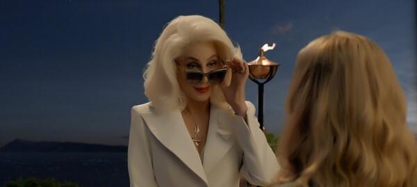 Cher en Mamma Mia! Here we go again