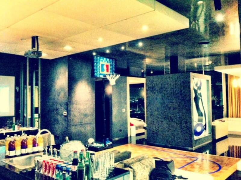 Esta es la habitación en donde se hospeda Justin en la Ciudad de México.