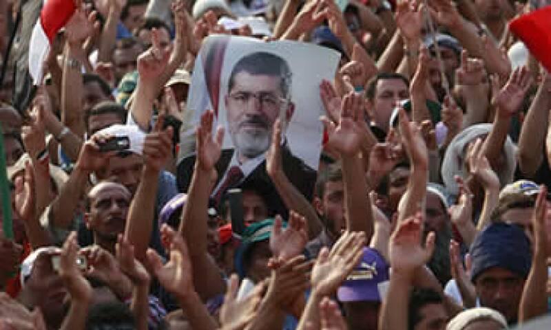 La semana pasada el Ejército anunció la deposición del presidente Mohamed Morsi. (Foto: AP)