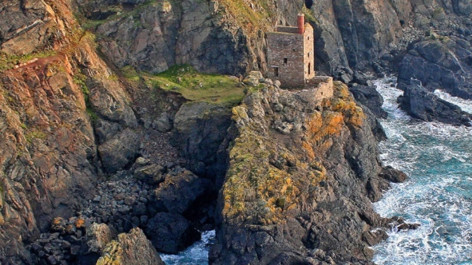 Cornwall's ruined mines, England