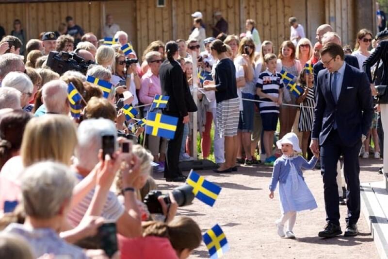 Es el primer acto oficial de una de las princesas más carismáticas de la realeza.