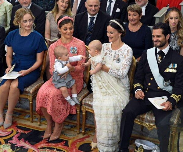 El príncipe Oscar es tan solo un mes mayor que Alexander.
