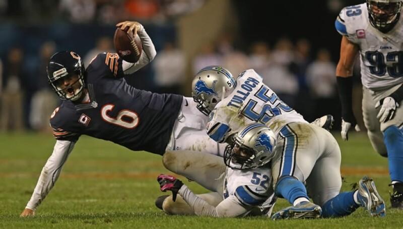 jay cutler osos de chicago vs leones de detroit NFL