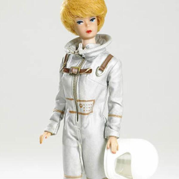 Barbie fue astronauta en 1965, 1968 y 1994.