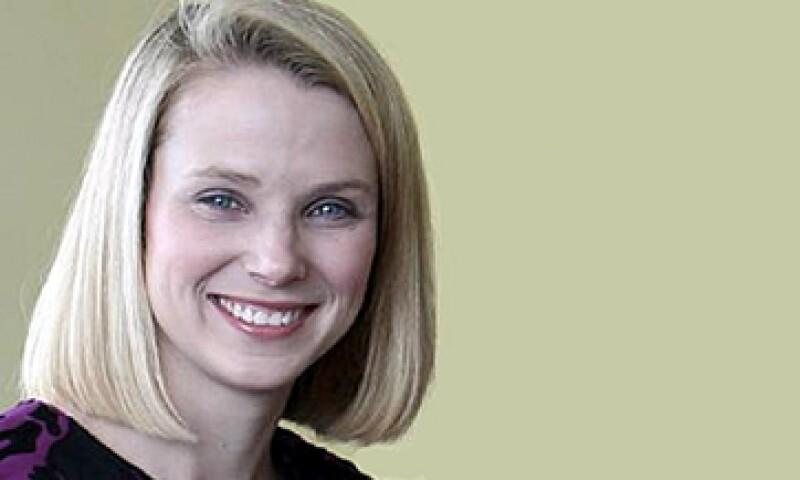 Mayer, de 37 años, está casada con Zack Bogue, quien forma parte de la firma de capital privado Data Collective. (Foto: Cortesía Yahoo)