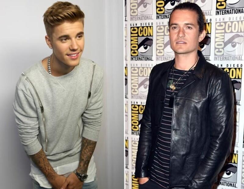Ante el encuentro que tuvieron Justin y Orlando, Leonardo DiCaprio incluso felicitó a su amigo actor por la reacción que tuvo en contra del astro canadiense.