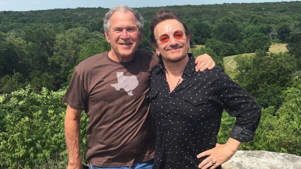 Bush y Bono