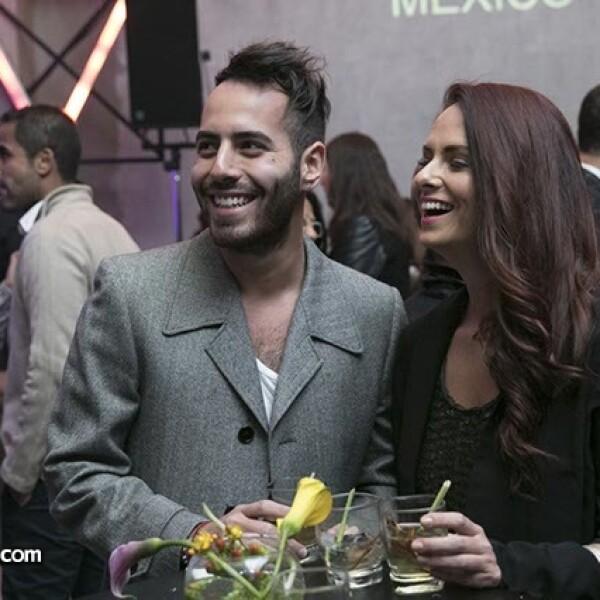 Raúl Colmenero y Gabriela Domínguez