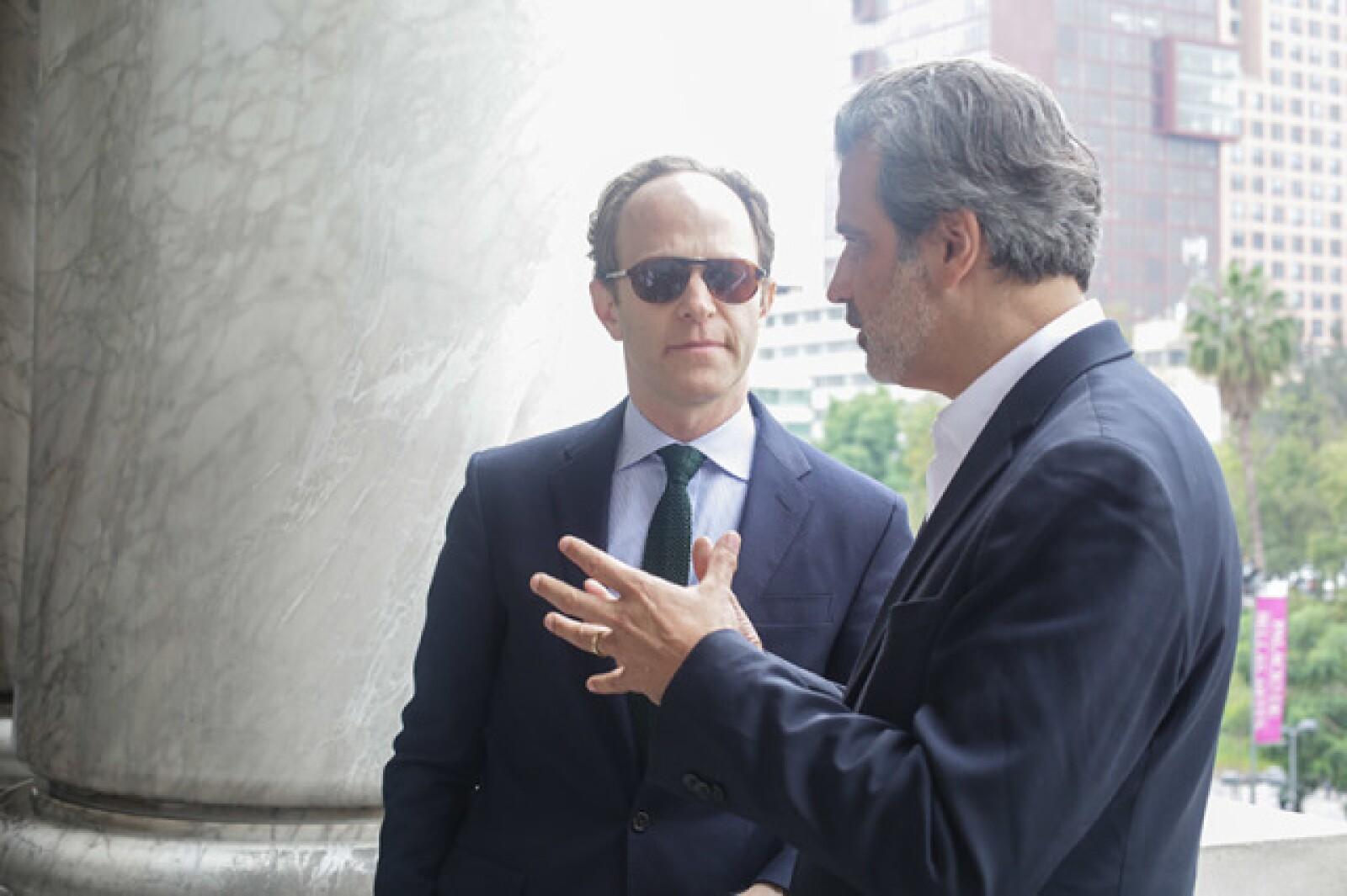 Ari Wiseman y Miguel Fernández Félix