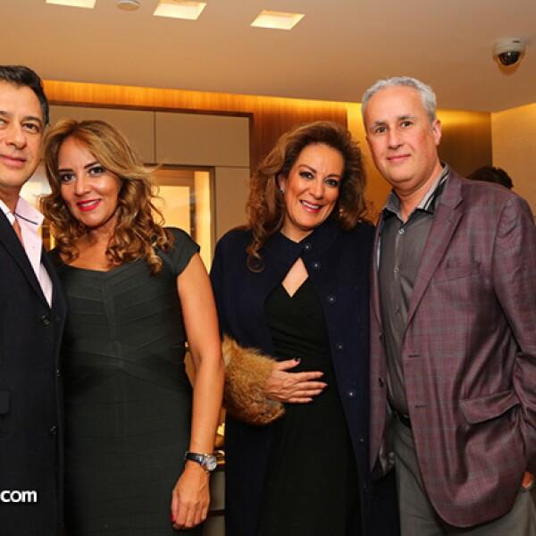 Jorge Romero,Sabrina Herrera,Ana Laura Pascual y Gerardo Zapata