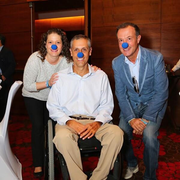 Francisca Labbe,Jorge Font y Juan Manuel Abad