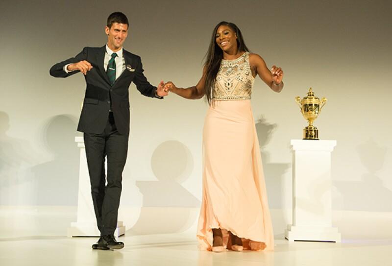 Los campeones encantaron con su carisma sobre el escenario.