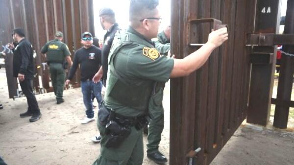 Policia frontera EU- México
