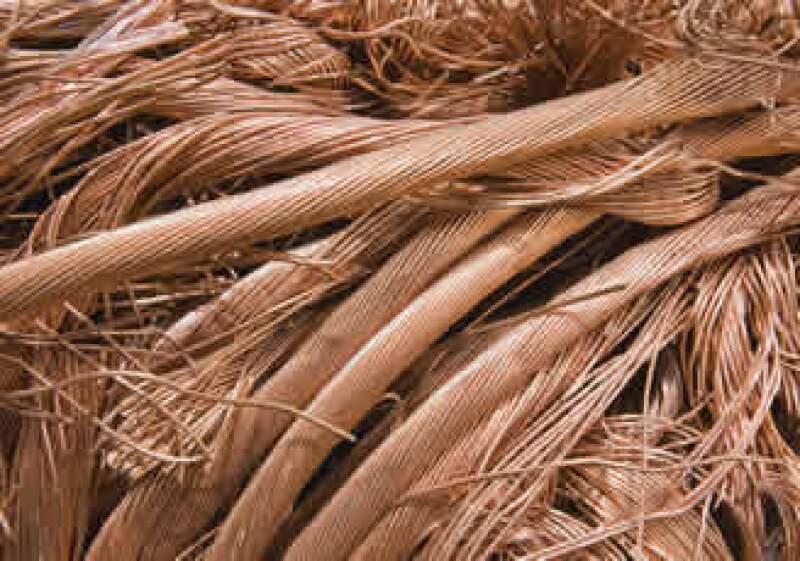 La producción de cobre de México subió 41.7% en enero frente al mismo mes del año pasado a 26,891 toneladas. (Foto: Photos to Go)
