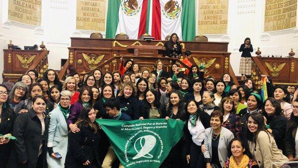 Parlamento de mujeres de la CDMX