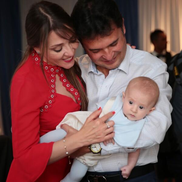 Bautizo de Roger hijo de Christina Lima