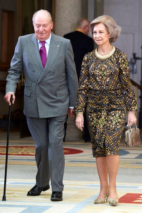 Juan Carlos y Sofía de España