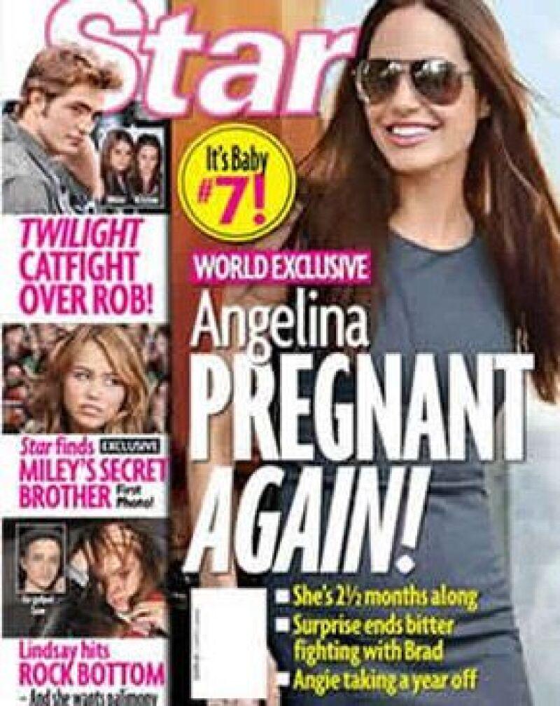 La actriz podría estar por tercera vez embarazada de Brad Pitt. Se dice que la pareja estaba buscando tener otro hijo.