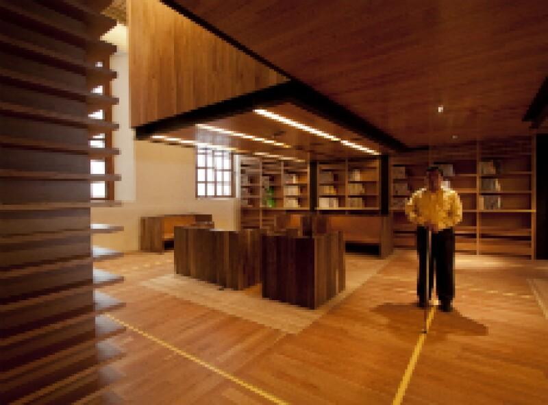 P Sala para invidentes Biblioteca Vasconcelos