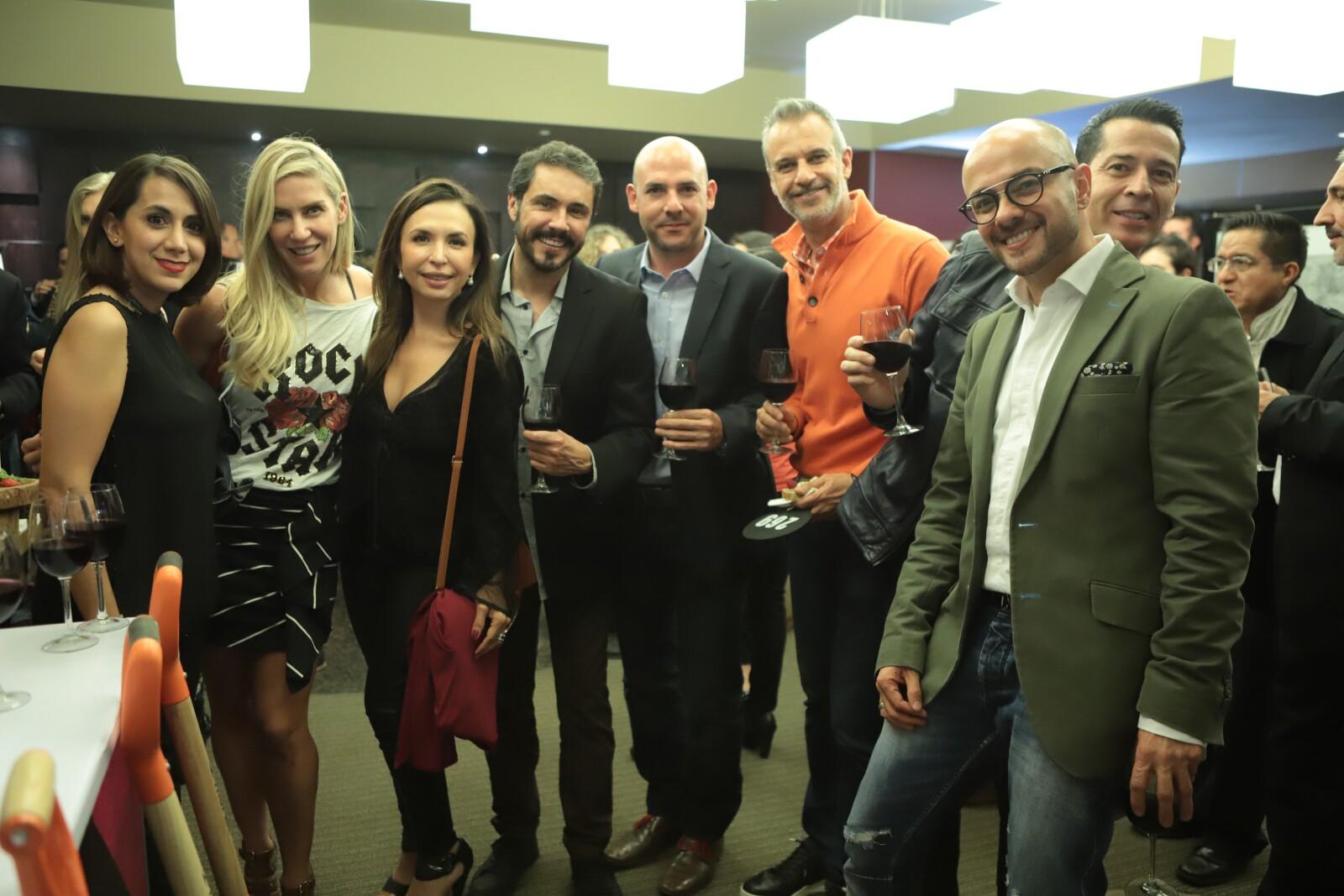 Anette Castro, Mossy Santini, Rene Moreno, Andres Suarez, Francisco Zayas, Guillermo Serrano.JPG