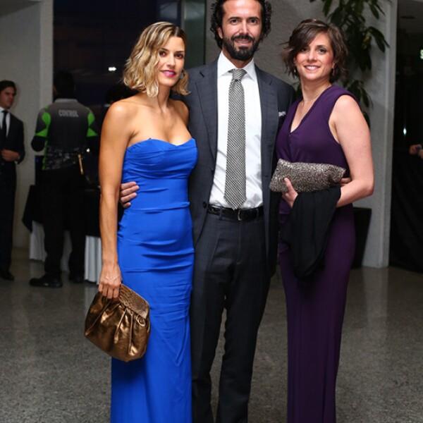 Fernanda de Ovando, Serapión Fernández y Nicole Guillén