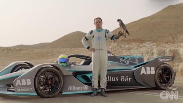 ¿Puede un auto de la Fórmula E vencer al animal más veloz del planeta?