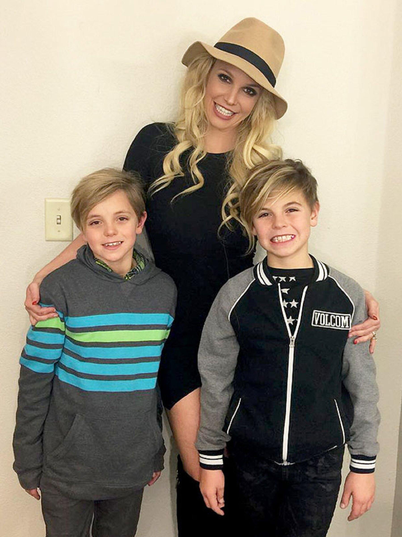 Britney tuvo dos hijos con su ex esposo, Kevin Federline.
