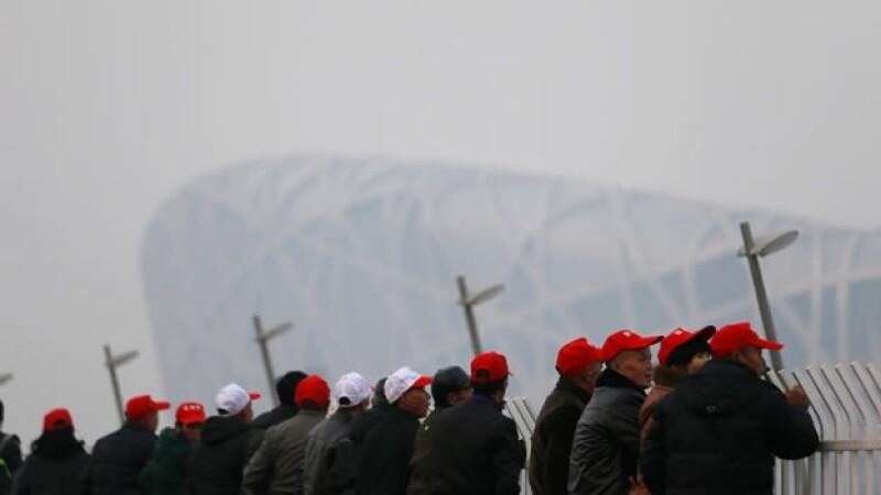 beijing estadio nacional contaminacion