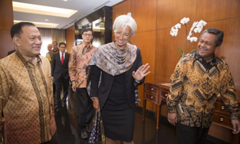 Lagarde está en una visita de dos días en Yakarta, la capital de Indonesia. (Foto: Reuters )