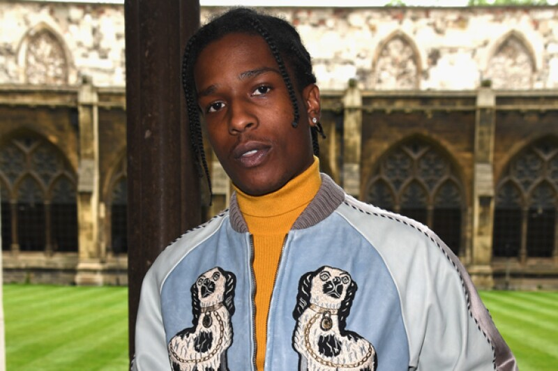 A$AP Rocky tiene 27 años.