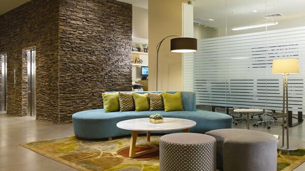 Diseño interior de hotel