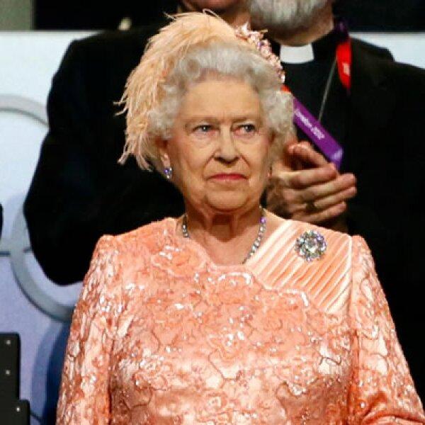 La reina de Inglaterra apareció durante la inauguración del evento deportivo que durará del 27 de julio al 12 de agosto