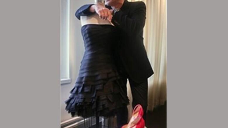 Él es responsable de las prendas que se mostraron en el Fashion Show.