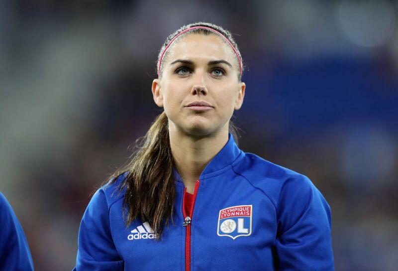 Alex Morgan Olympique de Lyon
