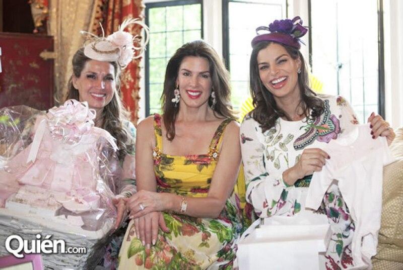 Con todo el lujo que la caracteriza, Bárbara celebró con un british baby shower la llegada de Amaia.