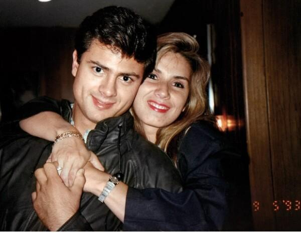 Enrique Peña Nieto y Mónica Pretelini.
