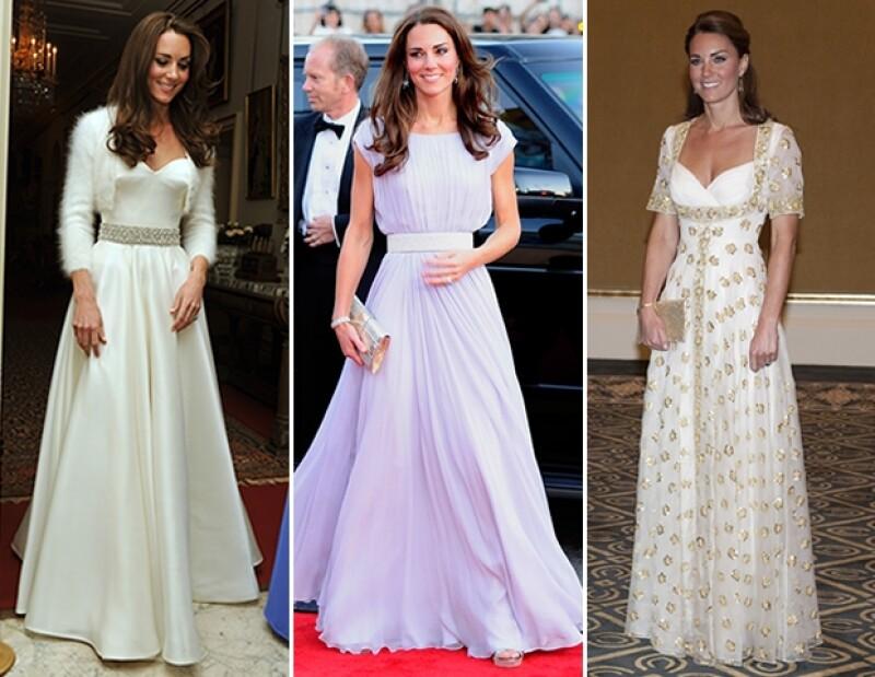 La casa de moda reportó un aumento del 27% de sus ventas desde que comenzó su `love affair´con la Duquesa de Cambridge, quien usa sus diseños en cada oportunidad que tiene.