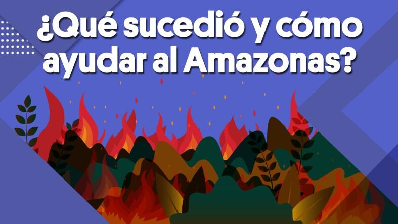 ¿Qué sucedió y cómo ayudar al Amazonas? | #Clip