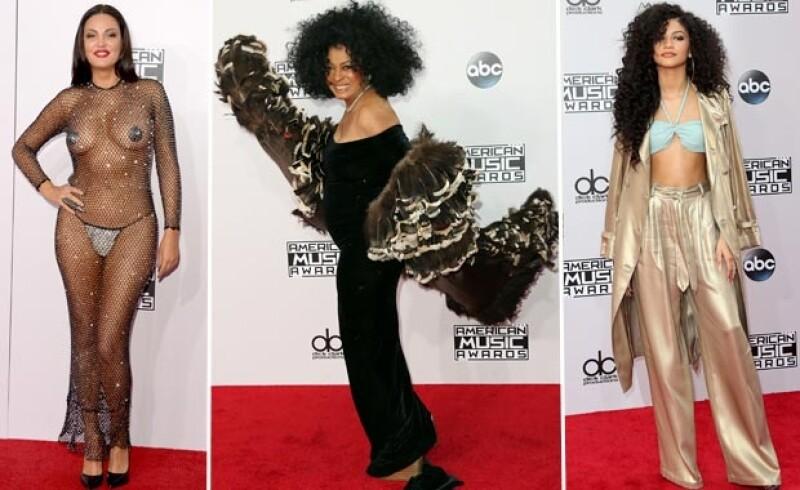 Bleona Qereti, Diana Ross y Zendaya fueron las peores vestidas de la noche.