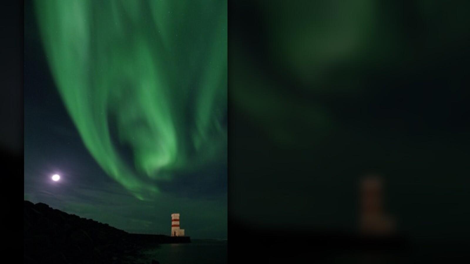 luces del norte aurora boreal