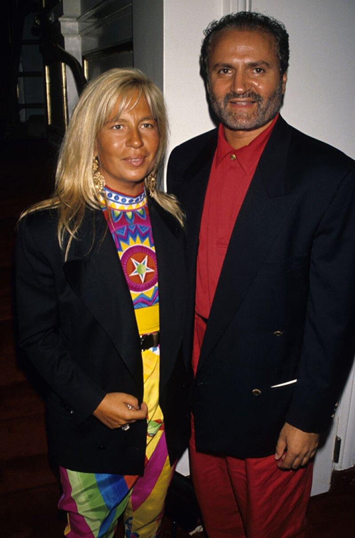 Junto a su hermano Gianni, Donatella construyó un emporio.