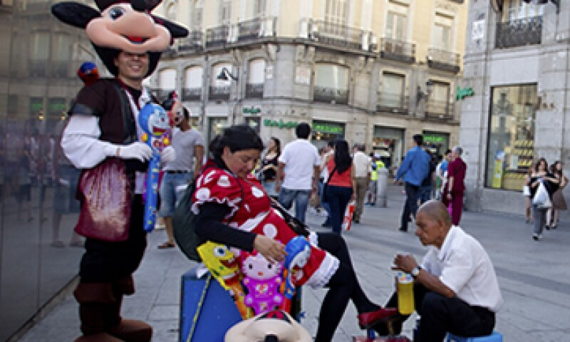 El Gobierno español destacó el fuerte crecimiento de los turistas con paquete turístico. (Foto: AP)